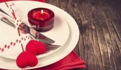 Come organizzare la cena di San Valentino a casa