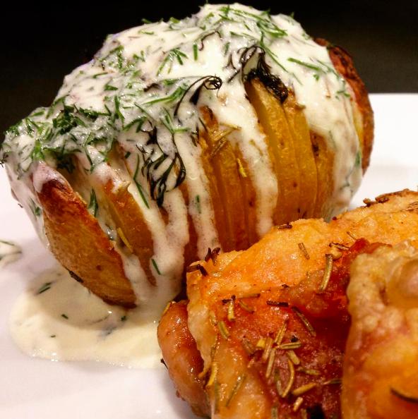 Ricetta-Patate-Hasselback