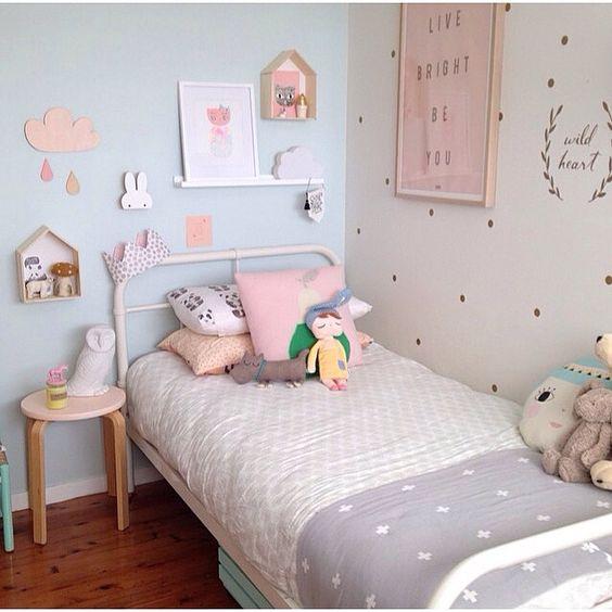 5 idee per arredare la cameretta della vostra bambina - Madeleine H ...