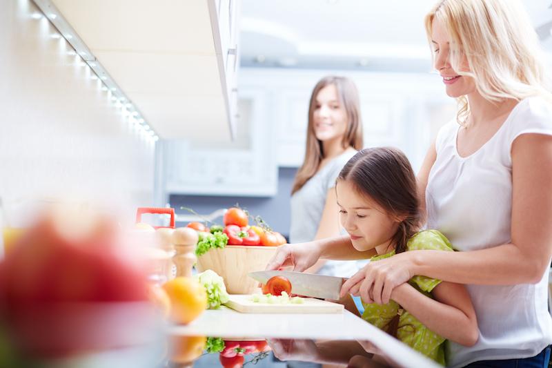 Menù settimanale per la famiglia